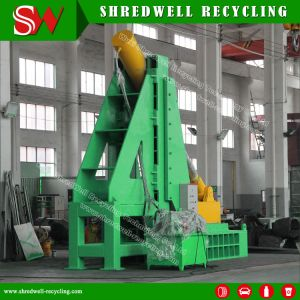 Exclusive Design Scrap Mine Tire Cutter Machine Specially for Recycling Huge Size Scrap OTR Tyre pictures & photos