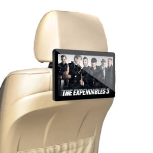 OEM 10.1 Inch Taxi Headrest Advertising Video Display for Automobile