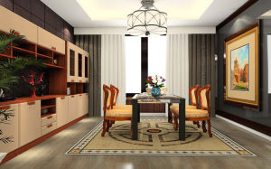 Dining Room Set Specific Use Classic Dining Room Furniture (zp-008) pictures & photos