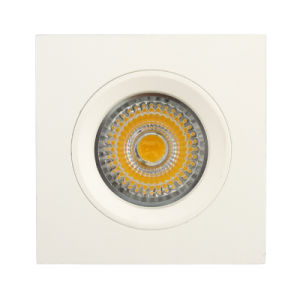 Aluminum Die Casting GU10 MR16 Square Fixed Recessed LED Spotlight (LT1107) pictures & photos