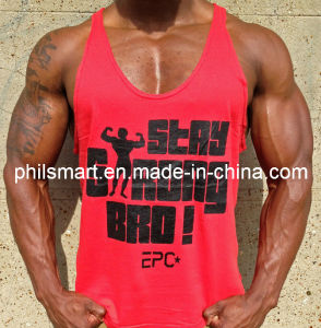 Fitness Workout Gym Singlet Stringer Vest Tank Top pictures & photos