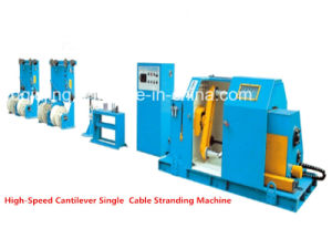 1000p Coaxial Cable Making Machine Cantilever Single Cable Twisting Machine pictures & photos
