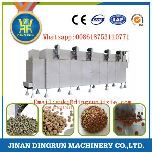 Twin screw floating fish feed pellet machine pictures & photos