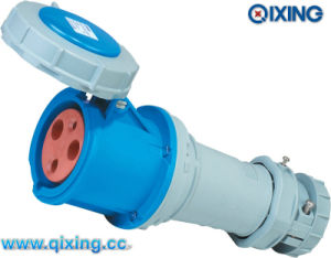 IP67 63A Single Phase Connector for Industry Application (QX1574) pictures & photos