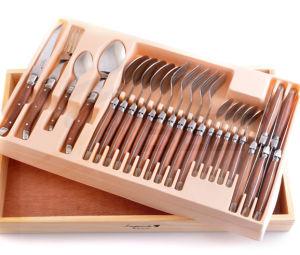 Wholesale Pakka Wood Handle Laguiole Dinner Sets (SE-K327) pictures & photos