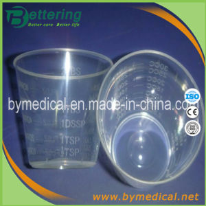 Disposable PP Injection Molding Plastic Transparent 30ml/Cc Dosage Cup pictures & photos