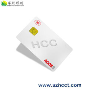 Acos-3 Microprocessor Smart IC Card ISO14443A pictures & photos