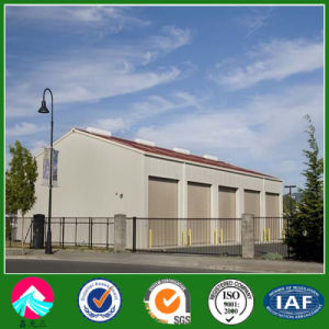 China Low Cost Large Span Steel Structure Prefabricated Warehouse for Sale pictures & photos