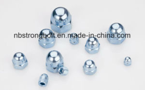 High Quality One Piece Type Carbon Steel DIN1587 Hexagon Dome Cap Nut Dome Nut pictures & photos