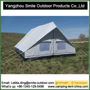 Large Temporary Luxury Safari Canvas Square Camping Tent pictures & photos