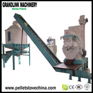 Roller Moving Biomass Wood Pellet Mill Machine with Ce
