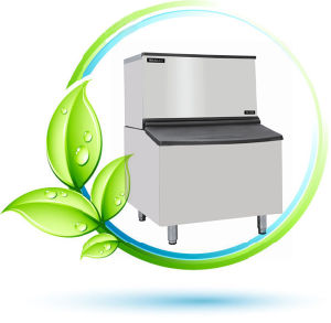 165kg Cube Ice Machine (AC-350)