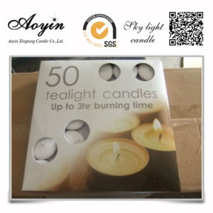 Factory Price Paraffin Wax Tea Light Candles pictures & photos