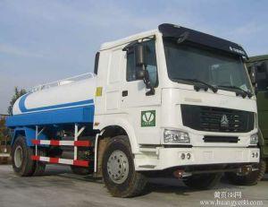10000L Sinotruk HOWO 4X2 Tanker 290 HP Water Tank Truck