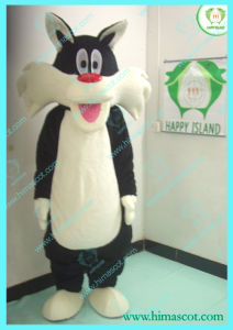 Hi En71 Movie Black Cat Mascot Costume