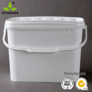 8.7L Rectangular Plastic Candy Bucket and Small Square Bucket pictures & photos