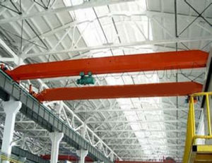 China Factory Top Brand Single Girder Overhead/Bridge Travelling Crane 32t (LD Model)