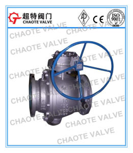 2-PC Cast Trunnion Ball Valve (Q347F)