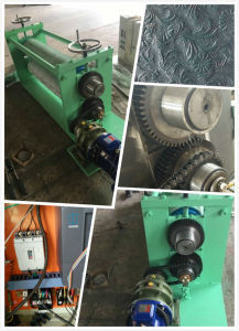Customized Male and Female Type Embossing Unit for LDPE Film pictures & photos