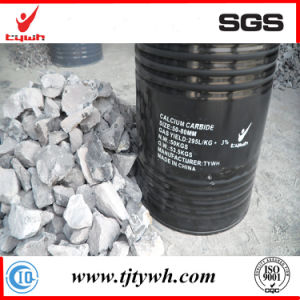 Calcium Carbide 100kg Iron Drum Package pictures & photos