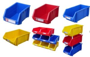 Stackable Storage Plastic Shelving Bin Box (JW-CN1411528) pictures & photos