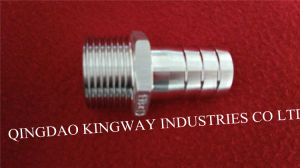Stainless Steel Hexagon Hose Nipple (WN) pictures & photos