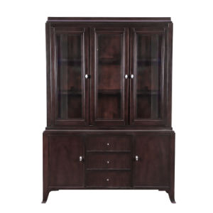 Contemporary Solid Wood Bookcase Era