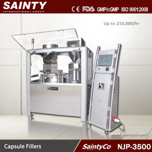 Njp-3500 High Speed Capsule Filling Machine, Automatic Capsule Filling Machine, Capsule Filler