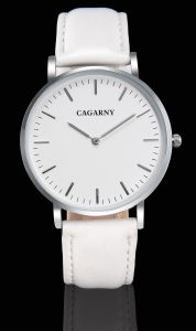 Slier Wristwatch Leather Strap Watch for Unisex pictures & photos