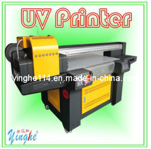 High Output Low Cost UV LED Flatbed Printer pictures & photos