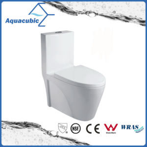 One Piece Round Front Bowl Toilet in White (ACT9382) pictures & photos