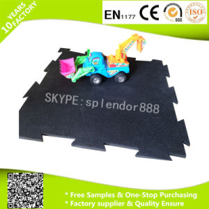 EPDM Interlocking Gym Rubber Flooring Mat pictures & photos