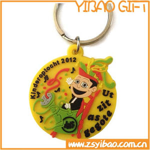 Wholesale High Quality PVC Key Chain with Custom Logo (YB-k-008) pictures & photos