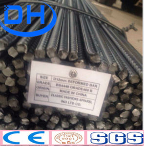 Hot Rolled Reinforced Deformed Steel Rebar for Building Construction pictures & photos