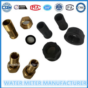Water Meter Fittings with Plastic/Brass Body pictures & photos
