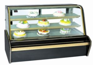 Cheering Luxury Marble Cake Showcase Display Showcase pictures & photos