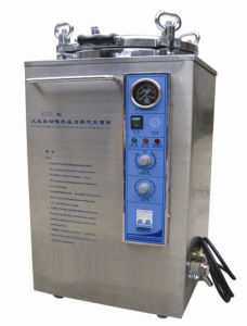 Stainless Steel Vertical Autoclave Sterilizer Mini Bottle Retort Sterilizer pictures & photos