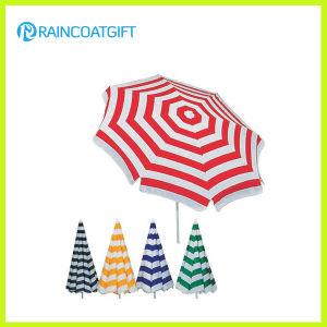 Fashion Custom Brand Stripe Printed Beach Umbrella pictures & photos