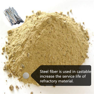 Refractory Castable Melt Steel Fiber for Refractory Material pictures & photos