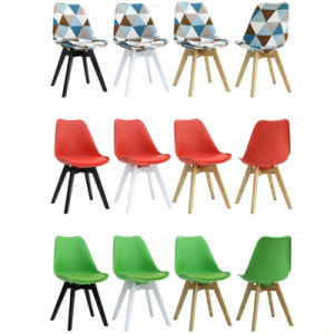Solid Wooden Coffee Chairs with Various Color pictures & photos