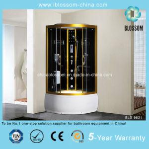 New Arrival Luxury Golden Shower Corner Room (BLS-9821) pictures & photos