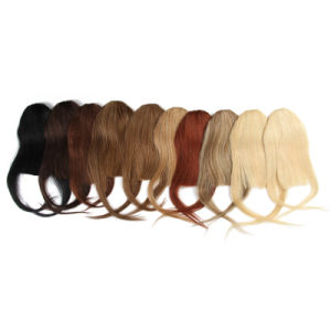 100% Human Hair Fringe Bangs 25g Clip in/on Side Natural Hair Bangs Xu Chang Product Bangs Human Hair Extensions pictures & photos