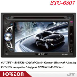 Automotivo Stc-6807 Double DIN Car DVD Player GPS Navigation, Bluetooth, Car Audio Accessories