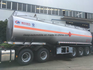3 Axles Heavy Duty Fuel Tanker Truck Trailer 40 to 55cbm Tank Semi Trailer pictures & photos