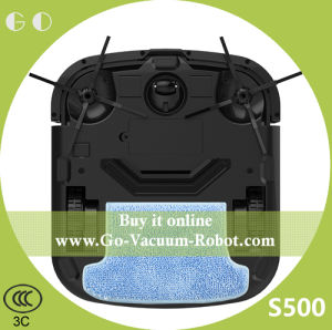 Intelligent Household Cleaning Robot Cacuum with Strong Suction Dry Wet Function Sweeping (S500) pictures & photos