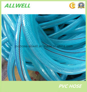PVC Plastic Hydraulic Transparent Water Hose Fiber Braided Garden Hose Pipe Tubing pictures & photos