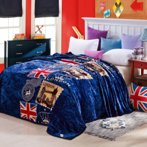 Hot Sale Super Soft Printed Flannel Blanket Coral Fleece Blanket (SR-B170318-3) pictures & photos