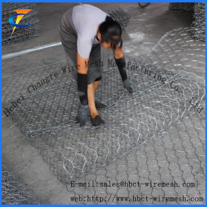 China Gabion/Factory Hot-Dipped Galvanized Gabion Basket pictures & photos