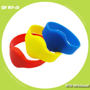 Wrs65 Ultralight C Hf RFID Water Proof Bracelets for Event Ticketing (GYRFID) pictures & photos