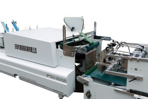 Xcs-980 Special Use of Flat Box Folder Gluer Machine pictures & photos